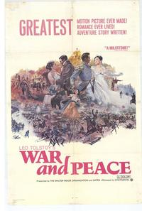 War and Peace - 11 x 17 Movie Poster - Style B
