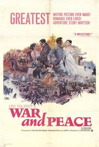 War and Peace - 27 x 40 Movie Poster - Style B