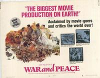 War and Peace - 27 x 40 Movie Poster - Style C