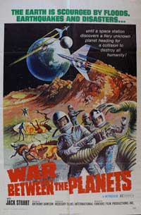 War Between the Planets - 11 x 17 Movie Poster - Style A