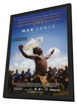 War Dance - 27 x 40 Movie Poster - Style A - in Deluxe Wood Frame