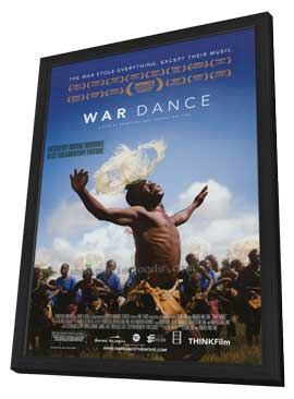 War Dance - 11 x 17 Movie Poster - Style A - in Deluxe Wood Frame