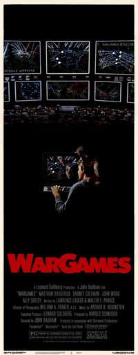 WarGames - 14 x 36 Movie Poster - Insert Style A