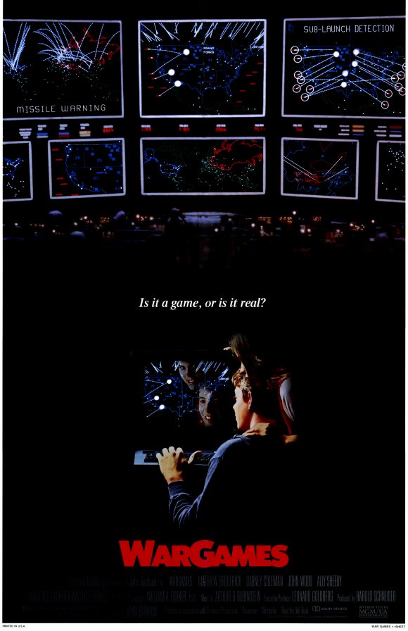 Wargames Movie Posters From Poster Shop
