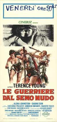 War Goddess - 13 x 28 Movie Poster - Italian Style A