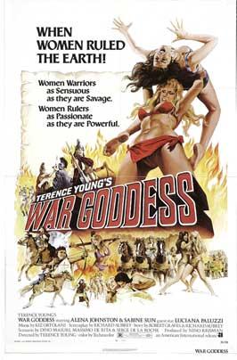 War Goddess - 11 x 17 Movie Poster - Style A