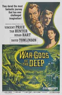 War Gods of the Deep - 11 x 17 Movie Poster - Style A