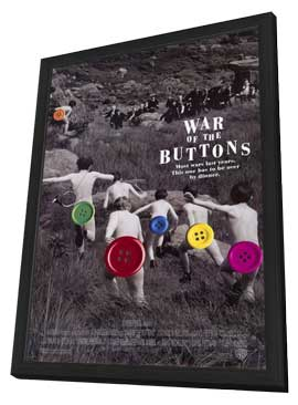 War of the Buttons - 11 x 17 Movie Poster - Style A - in Deluxe Wood Frame