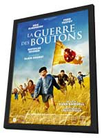 War of the Buttons - 11 x 17 Movie Poster - French Style B - in Deluxe Wood Frame