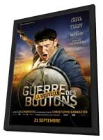 War of the Buttons - 11 x 17 Movie Poster - French Style C - in Deluxe Wood Frame