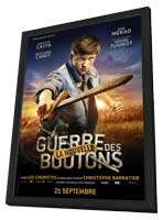 War of the Buttons - 11 x 17 Movie Poster - French Style D - in Deluxe Wood Frame