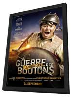 War of the Buttons - 27 x 40 Movie Poster - French Style F - in Deluxe Wood Frame