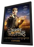War of the Buttons - 11 x 17 Movie Poster - French Style I - in Deluxe Wood Frame