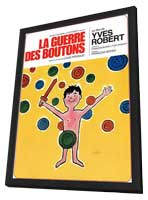 War of the Buttons - 27 x 40 Movie Poster - French Style A - in Deluxe Wood Frame