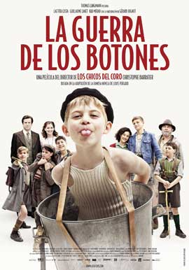 War of the Buttons - 11 x 17 Movie Poster - Spanish Style A