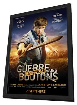War of the Buttons - 27 x 40 Movie Poster - French Style C - in Deluxe Wood Frame