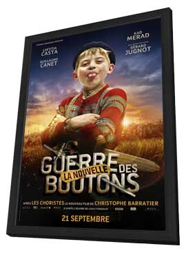 War of the Buttons - 11 x 17 Movie Poster - French Style E - in Deluxe Wood Frame