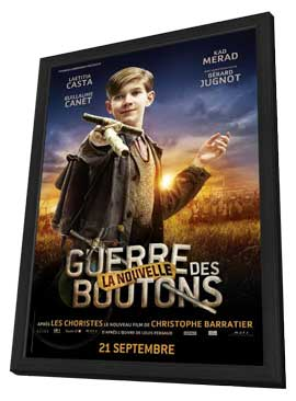 War of the Buttons - 27 x 40 Movie Poster - French Style H - in Deluxe Wood Frame