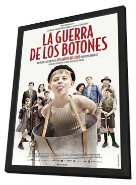 War of the Buttons - 11 x 17 Movie Poster - Spanish Style A - in Deluxe Wood Frame