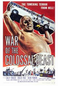 The War of the Colossal Beast - 27 x 40 Movie Poster - Style A