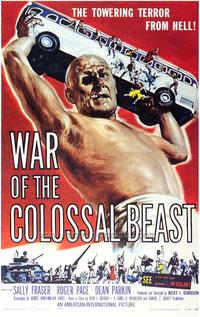 The War of the Colossal Beast - 43 x 62 Movie Poster - Bus Shelter Style A
