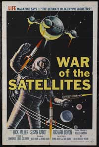 War of the Satellites - 43 x 62 Movie Poster - Bus Shelter Style A