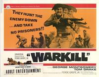 Warkill - 11 x 14 Movie Poster - Style A