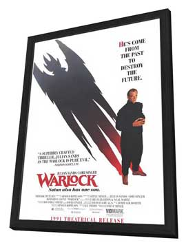 Warlock - 11 x 17 Movie Poster - Style B - in Deluxe Wood Frame