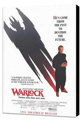 Warlock - 11 x 17 Movie Poster - Style B - Museum Wrapped Canvas