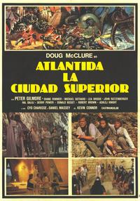 Warlords of Atlantis - 11 x 17 Movie Poster - Spanish Style A