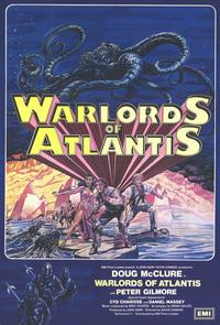 Warlords of Atlantis - 11 x 17 Movie Poster - Italian Style A