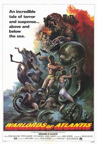 Warlords of Atlantis - 27 x 40 Movie Poster - Style A