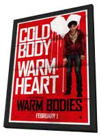 Warm Bodies - 27 x 40 Movie Poster - Style B - in Deluxe Wood Frame