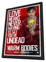 Warm Bodies - 11 x 17 Movie Poster - Style C - in Deluxe Wood Frame