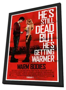 Warm Bodies - 11 x 17 Movie Poster - Style A - in Deluxe Wood Frame