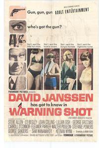 Warning Shot - 27 x 40 Movie Poster - Style A