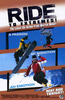 Warren Miller's Ride - 11 x 17 Movie Poster - Style A