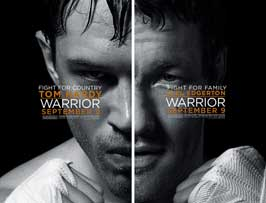 Warrior - 43 x 62 Movie Poster - Bus Shelter Style C