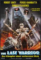 Warrior of the Lost World - 11 x 17 Movie Poster - German Style A