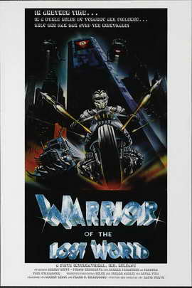 Warrior of the Lost World - 27 x 40 Movie Poster - Style A