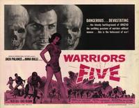 Warriors Five - 27 x 40 Movie Poster - Style A