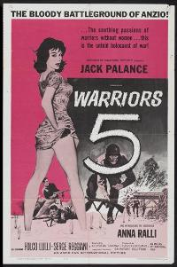 Warriors Five - 11 x 17 Movie Poster - Style A