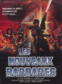 Warriors of the Wasteland - 11 x 17 Movie Poster - French Style A