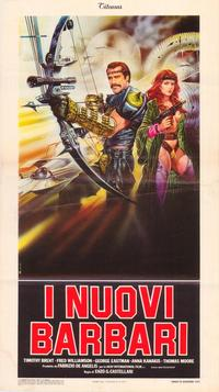 Warriors of the Wasteland - 11 x 17 Movie Poster - Italian Style A