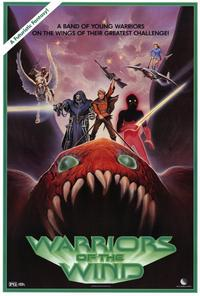 Warriors of the Wind - 27 x 40 Movie Poster - Style A