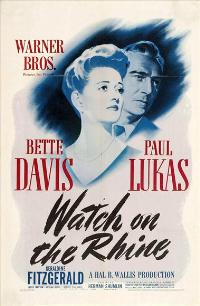 Watch on the Rhine - 27 x 40 Movie Poster - Style A
