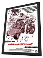 Watch Out, Were Mad - 27 x 40 Movie Poster - Style A - in Deluxe Wood Frame