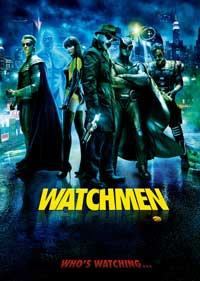 Watchmen - 43 x 62 Movie Poster - Bus Shelter Style H