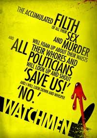 Watchmen - 27 x 40 Movie Poster - Style W