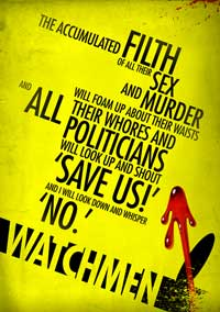Watchmen - 27 x 40 Movie Poster